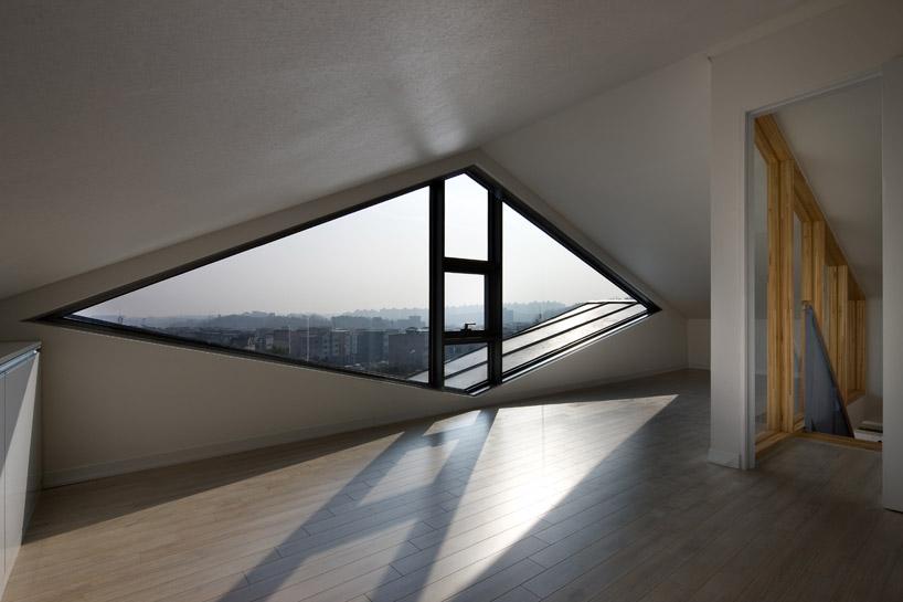 *首爾 Moon Hoon 全景六角形建築設計:溜滑梯+樓梯+書櫃強大結合! 8
