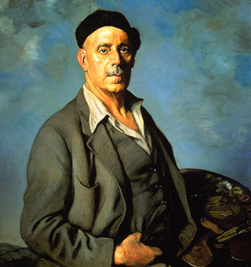 Ignacio Zuloaga - Self Portrait