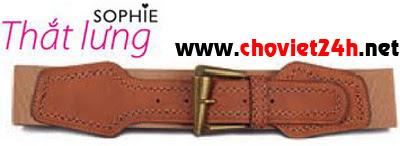 Thắt lưng nữ thời trang Sophie Cion - IPCI