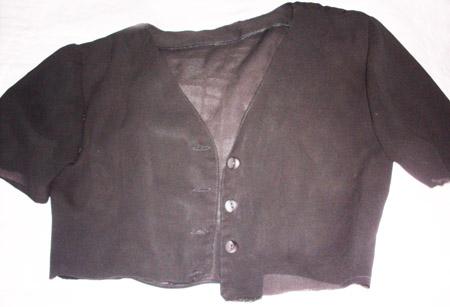 Transformando uma blusinha em bolero - Customizando.net