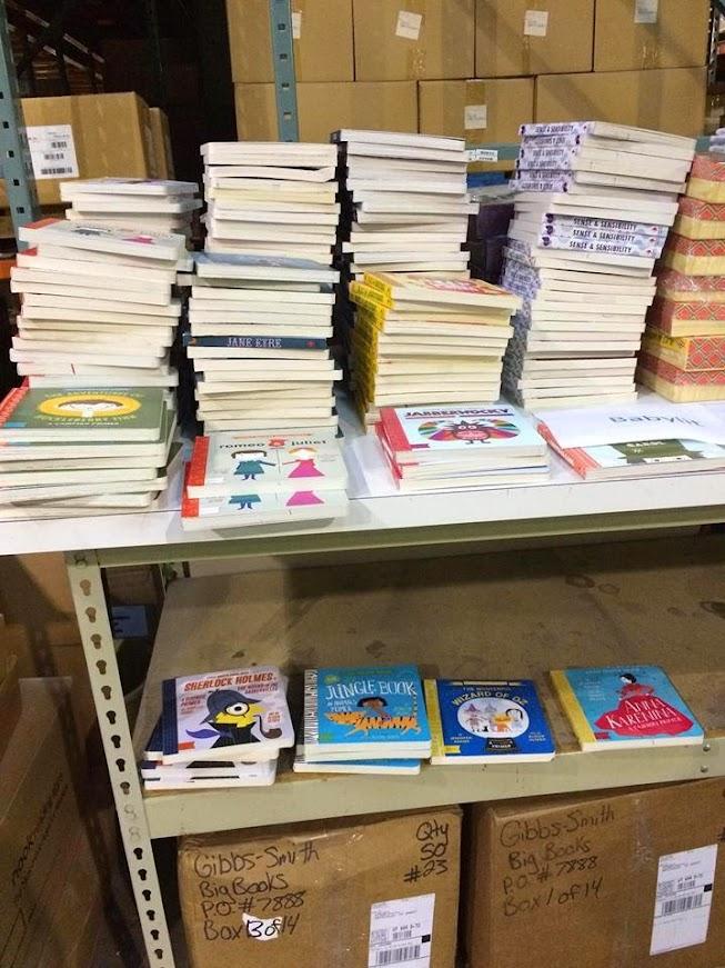 Gibbs Smith Damaged Book Warehouse Sale