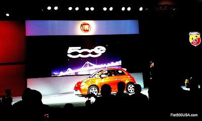 Fiat 500e launch