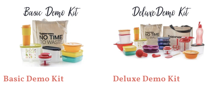What is the Tupperware Business? Tupperware demo kits