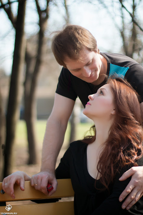 Сделать красивую съемку Love Story