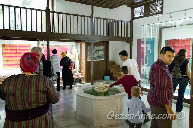 hamam anası ve hamamın soğukluk alanı, Türk hamam müzesi Beypazarı