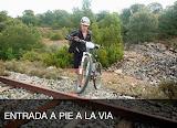 2013 - 11 Entrada a PIE a la vía (Cristina)