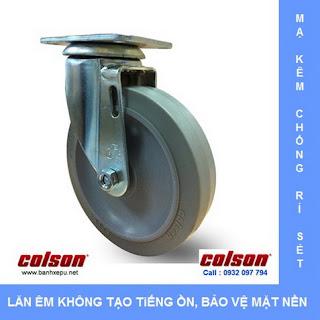 Bánh xe cao su bánh xe đẩy chịu lực (82~122kg)