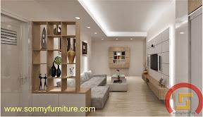 Mẫu nội thất  căn hộ SMF702
