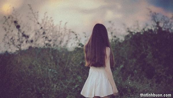 thơ nỗi niềm của cô gái