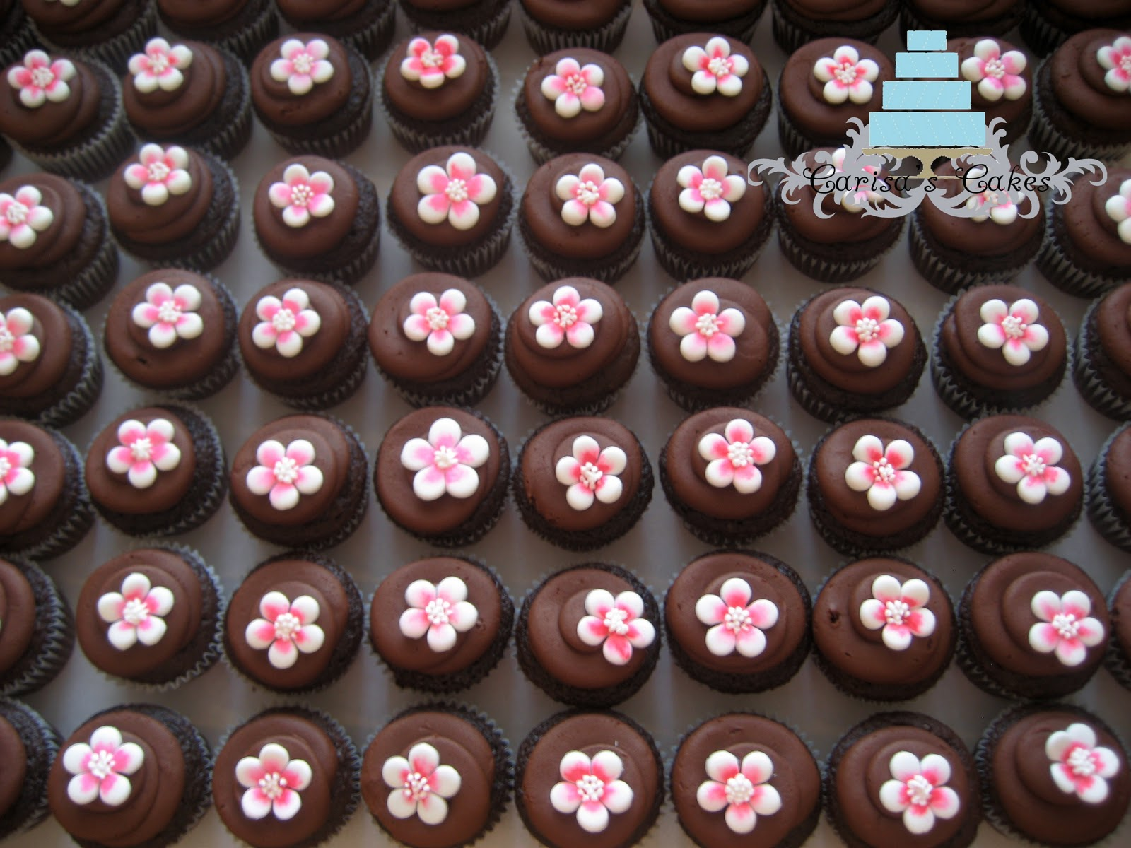 Carisa s Cakes Cherry Blossom Cake & Cupcakes