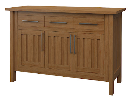 Syracuse Credenza in Calhoun Maple
