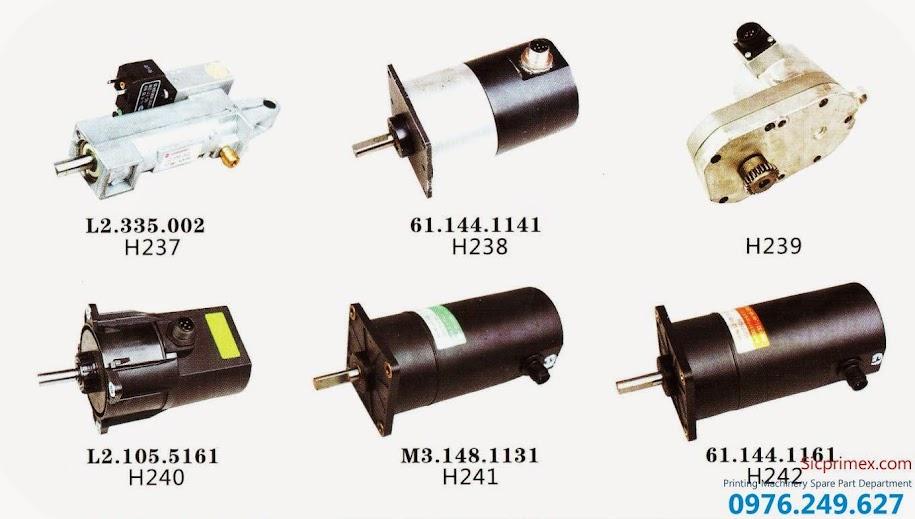 Linh kiện máy in chính hãng H237-242 giá rẻ