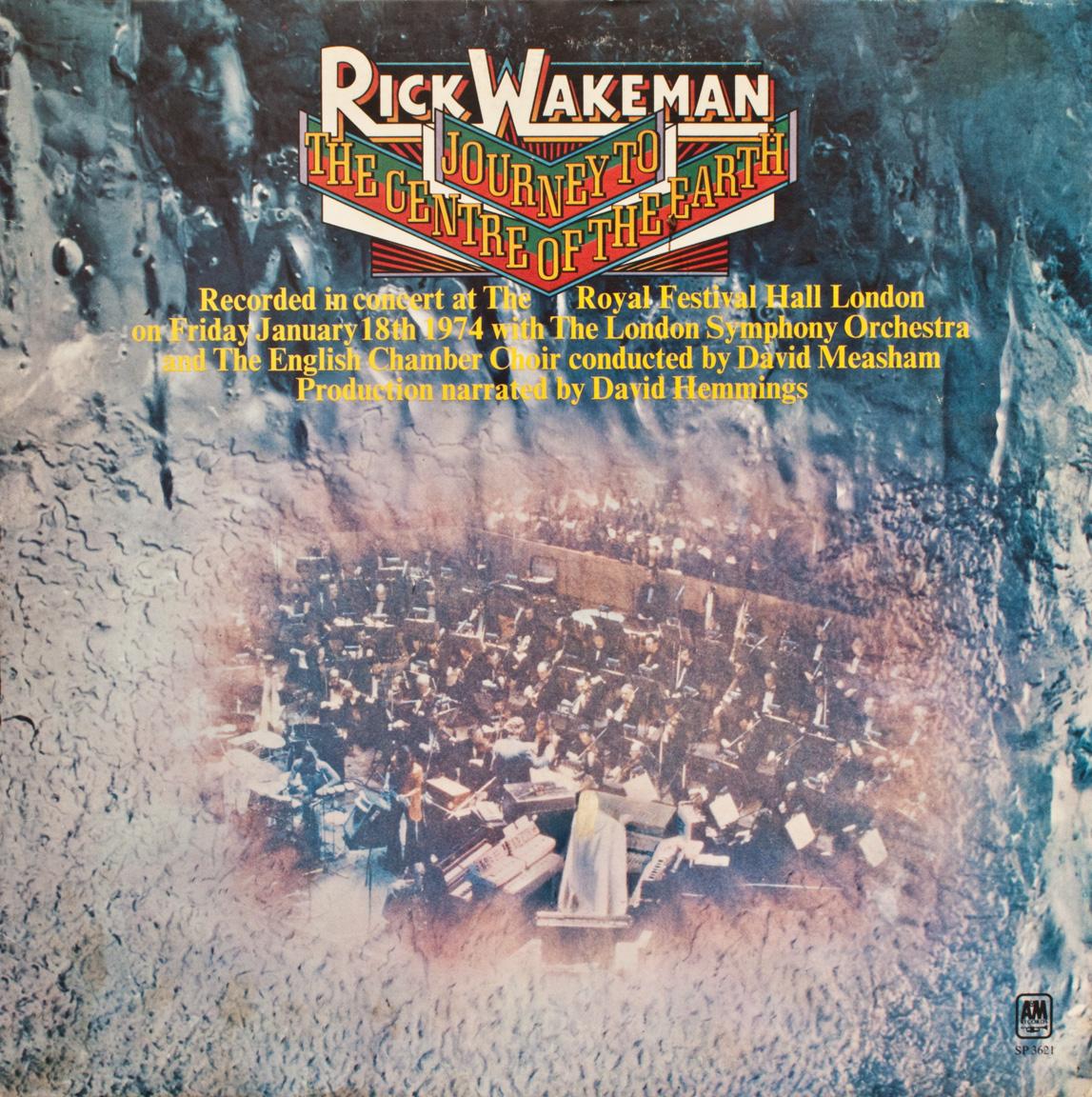 DAVID'S ROCK SCRAPBOOK: RICK WAKEMAN - (JOURNEY TO THE ...