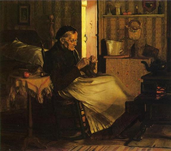 John George Brown - Home Comfort