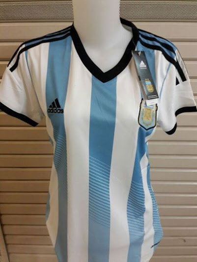 Jual Jersey Wanita Argentina Piala Dunia 2014