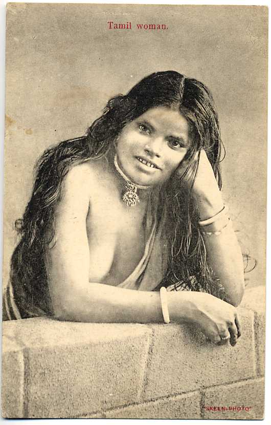 Portrait of a Tamil Woman