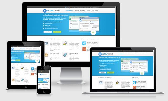 Share Template Unltraview - Blogger Landing Page đẹp và Miễn Phí