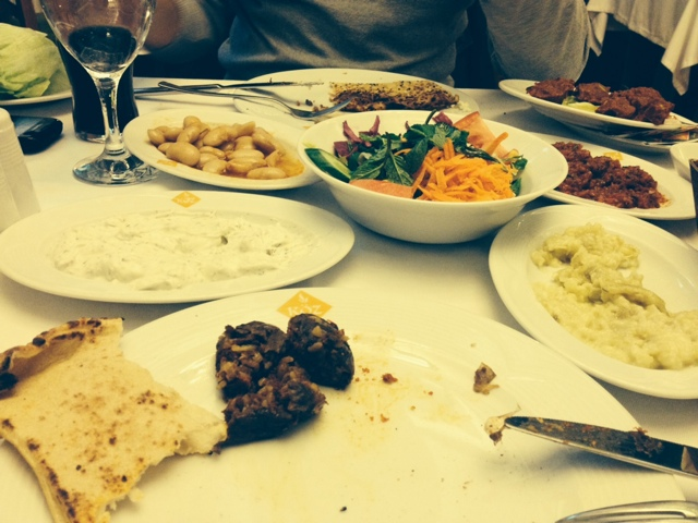 2014 sevgililer günü yemeği, yemek tabağı