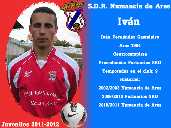 ADR Numancia de Ares. Xuvenís 2011-2012. IVAN.