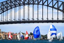 J/24 sailing Sydney Ocean Race Series- Sydney Harbour, Australia