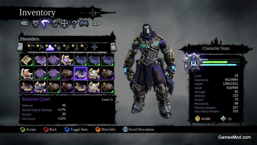 Download Darksiders 2 And All DLC-Blackbox-Repack - Game Screenshot