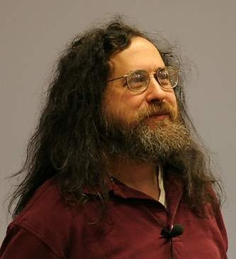 Richard Stallman fundador del movimiento de software libre visita Bolivia