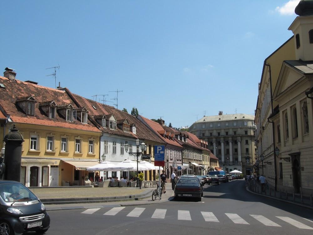 Neighborhood in Zagreb