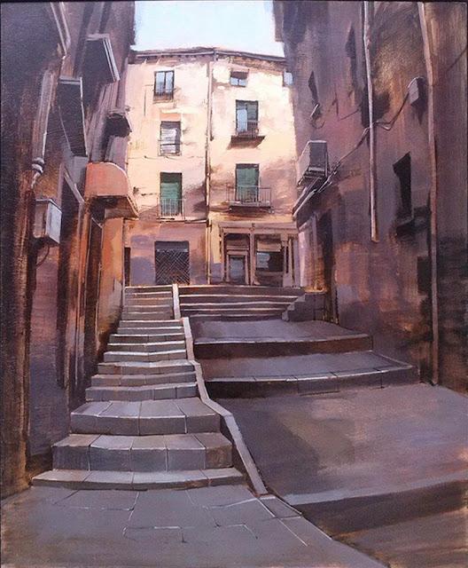 Obra premiada de Manuel Castillero Ramírez en el Concurso de Pintura de Segovia