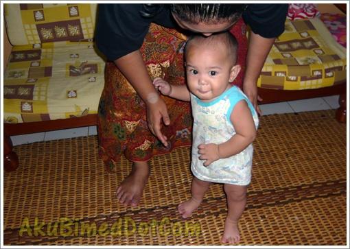Baby Aslah Langkah pertama