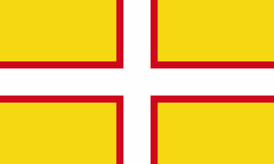 The Flag of the County of Dorset