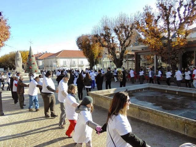 Caminhada solidária em Lamego ajuda cidadãos com deficiência