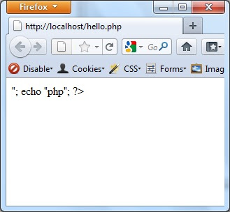 how to show php errors in browser