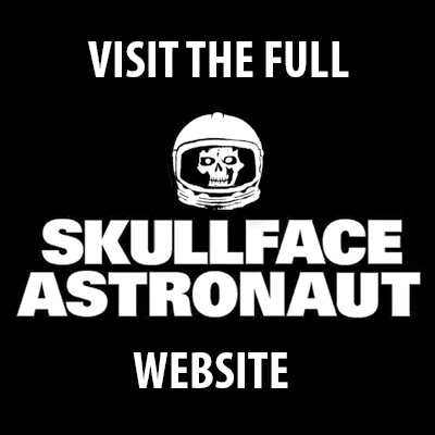 dale skull face astronaut scent of the sasquatch