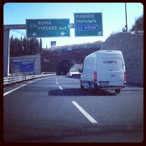 driving to Calabria
