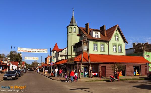 Łeba - centrum miasta