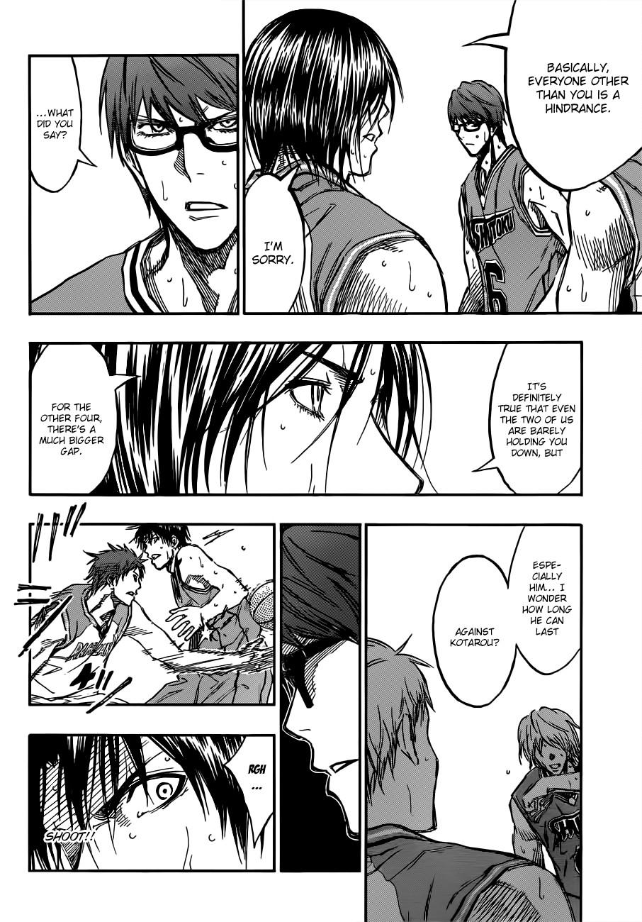 Kuroko no Basket Manga Chapter 177 - Image 12