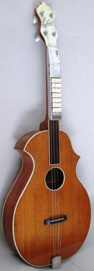 Stromberg Voisinet kay venetian body Baritone at Lardy's Ukulele Database
