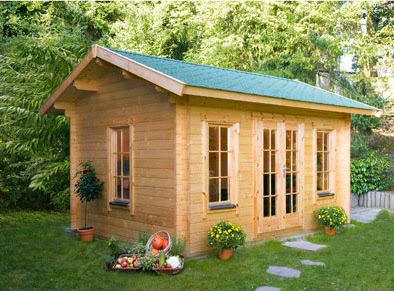 L abri de jardin en bois pvc ou m tal pens comme pi ce for Bureau de jardin en bois
