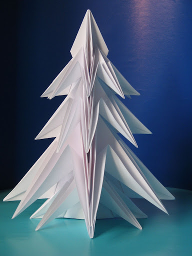 origami foto Abete 2 - Fir tree 2 by Francesco Guarnieri
