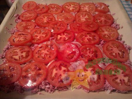 Начинка для вкусной домашней пиццы без дрожжей