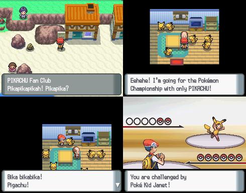 Hệ thống chiến đấu Pokemon Diamond - Pearl