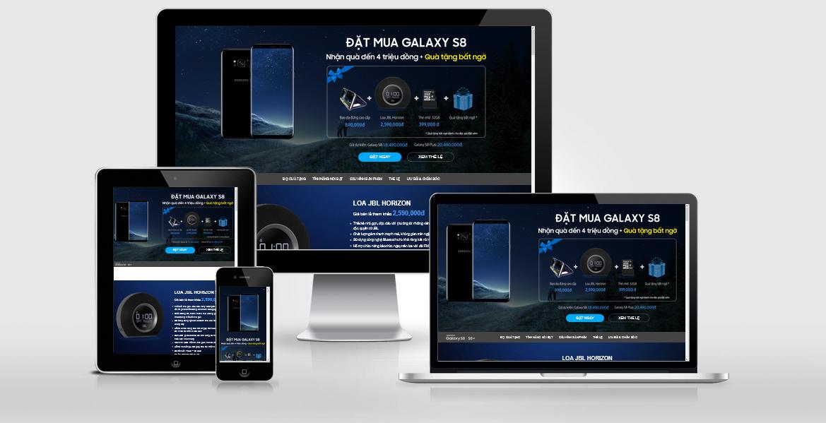 Share Template SamSung Galaxy của Vnexpress