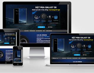 Các Template Blogger Landing Page đẹp và miễn phí - Blogspot VN