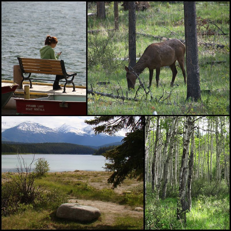 Pyramide Lake Jasper Nationalpark Alberta