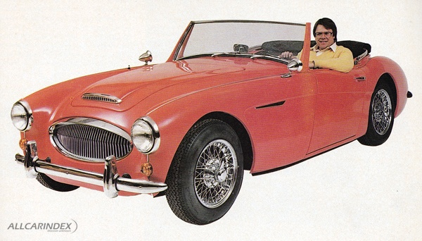 Classic Roadsters Saxon on Austin Healey