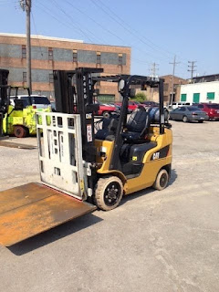 Cat Lift Truck Cascade Push Pull