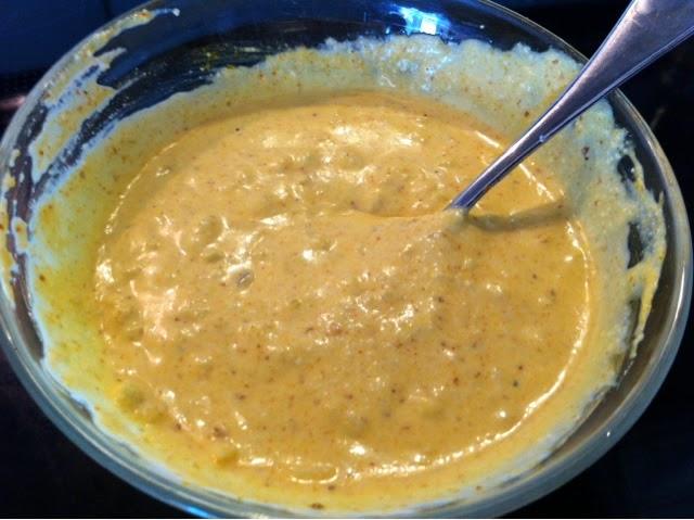 Kall currysås