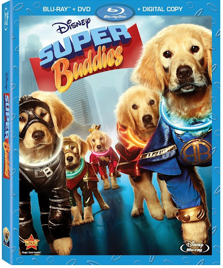 Now Available! Disney Super Buddies Blu-ray Combo Pack