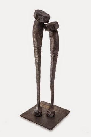 Pareja, escultura de Tobbe Malm