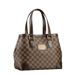 LV Hampstead PM Damier Ebene The versatile Hampstead can change to suit  different moods and occasions. Side press studs alter the capacity and  shape of the ... 499fbc95c8739